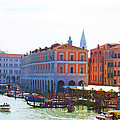 View Of Venice's Market by Christiane Kingsley