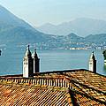 Villa Monastero Rooftop And Lake Como by Greg Matchick