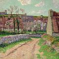 Village In Clohars by Henry Moret