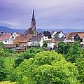 Village Of Rottelsheim, Alsace, France by Bilderbuch