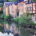 Village Reflections In Luxembourg I by Greg Matchick