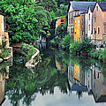 Village Reflections In Luxembourg II by Greg Matchick