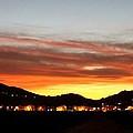 Village Sunset by Caroline Lomeli