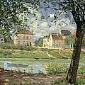 Villeneuve La Garenne by Alfred Sisley