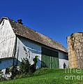 Vintage American Barn And Silo 1 Of 2 by Terri Winkler