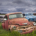Vintage Auto Junk Yard by Randall Nyhof
