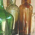 Vintage Bottles by Georgia Fowler