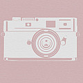 Vintage Camera Poster by Naxart Studio
