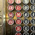 Vintage Cash Register by Glennis Siverson