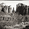 Vintage Cathedral Rock by John Rizzuto