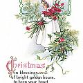 Vintage Christmas Blessings by Unknown