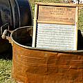 Vintage Copper Wash Tub by LeeAnn McLaneGoetz McLaneGoetzStudioLLCcom