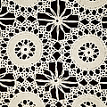 Vintage Crocheted Doily by Carolyn Marshall