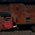 Vintage Distillery Truck by Andrew Fare