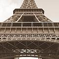 Vintage Eiffel Tower by Ivy Ho