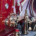 Vintage Fire Truck 1 by Jill Reger