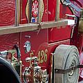 Vintage Fire Truck 2 by Jill Reger