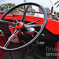 Vintage Ford - Steering Wheel... Controls - Circa 1920s by Kaye Menner