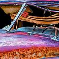 Vintage Frazer Front Window Auto Wreck by Randall Nyhof