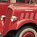 Vintage French Delahaye Fire Truck  by Tony Grider