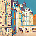Vintage French Travel Poster by George Pedro