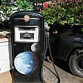 Vintage Gas Pump by Mary Deal