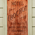 Vintage Hotel Sign 3 by Andrew Fare