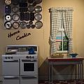 Vintage Kitchen 1 by Douglas Barnett