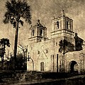 Vintage Mission Concepcion by Sarah Broadmeadow-Thomas