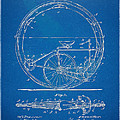 Vintage Monocycle Patent Artwork 1894 by Nikki Marie Smith