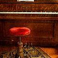 Vintage Piano by Jill Battaglia
