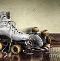 Vintage Roller Skates  by Carlos Caetano