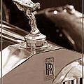 Vintage Rolls Royce 1 by Andrew Fare