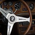 Vintage Rolls Royce Dash by Robin Lewis