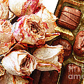Vintage Roses And Chocolates Painterly by Andee Design