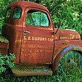 Vintage Rusted Dodge Truck by Kirk Mathew Gatzka