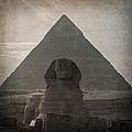 Vintage Sphinx by Jane Rix