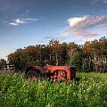 Vintage Tractor by Matt Dobson