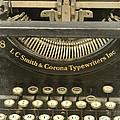 Vintage Typewriter by Jill Battaglia