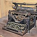 Vintage Typewriter by Susan Leggett
