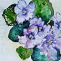Violet Cluster by Beverley Harper Tinsley