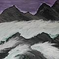 Violet Raging Waters by Marie Bulger