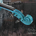 Violinelle - Turquoise 05a2 by Variance Collections