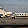 Vip Jet C-37a Of Supreme Headquarters by Timm Ziegenthaler