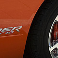 Viper Srt 10 Emblem And Wheel by Bob Christopher