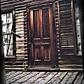 Virginia City Ghost Town Door I by Susan Kinney