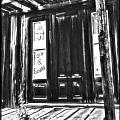 Virginia City Ghost Town Door II by Susan Kinney