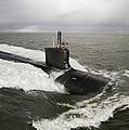 Virginia-class Attack Submarine by Stocktrek Images