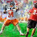 College Lacrosse 10 by Scott Melby