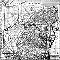 Virginia: Map, C1784 by Granger